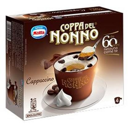 Picture of COPPA NONNO CAPPUCCINO X4GR.300 MOTTA