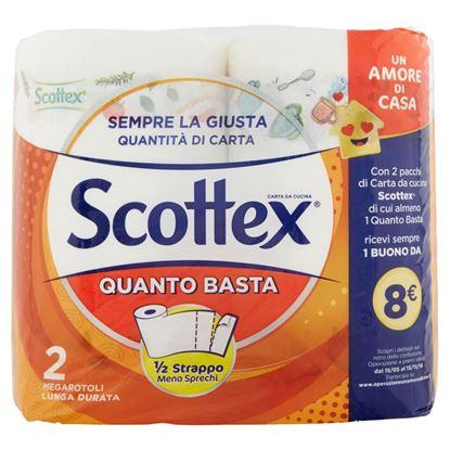 Immagine di CARTA CUCINA SCOTTEX QUANTO BASTA 2 ROT.