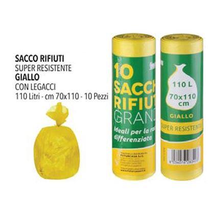 Picture of SACCO NETTEZZA GIALLO 70X110  PZ.10