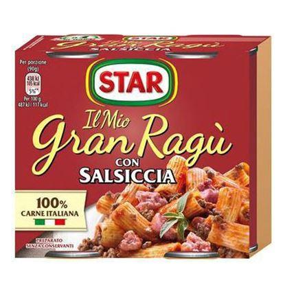 Immagine di GRANRAGU STAR SALSICCIA GR.180X2
