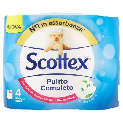 Picture of CARTA IG.SCOTTEX PULITO DELICATO 4 ROT.