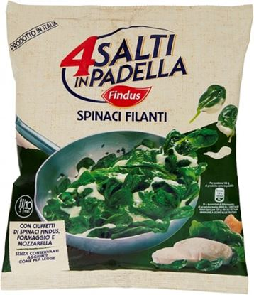 Picture of SPINACI FILANTI 4 SALTI PADELLA 450 GR