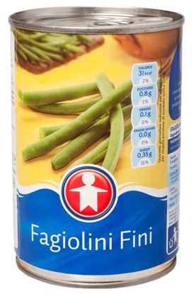 Immagine di FAGIOLINI FINI SIGMA A STRAPPO GR.400