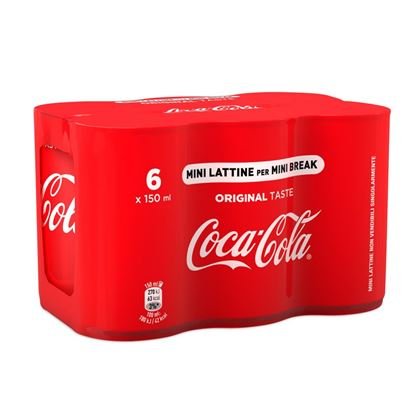 Picture of COCA COLA LATT.MINICAN CL15 X 6