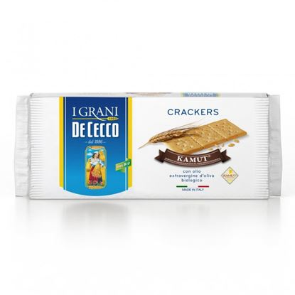 Picture of CRACKERS AL KAMUT DE CECCO GR.250