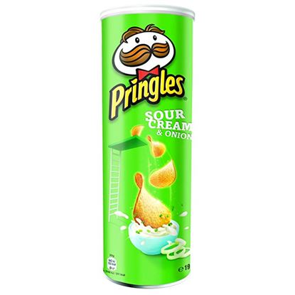 Immagine di PRINGLES SOUR CREAM E ONION GR.165