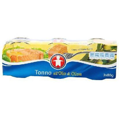 Picture of TONNO SIGMA YELLOWFIN NATURALE GR.80X3