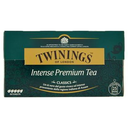 Immagine di TEA INTENSE PREMIUM TWININGS 25 FILTRI