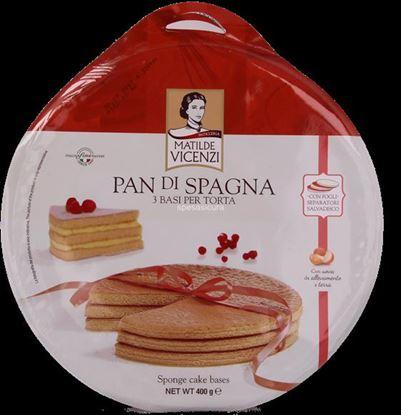 Picture of PAN DI SPAGNA VICENZI 3 BASI TORTA GR400