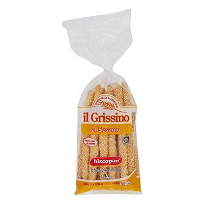 Picture of GRISSINI AL SESAMO BISCOPAN GR.200