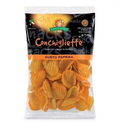 Picture of CONCHIGLIETTE SNACKS PAPRIKA GECCHELE GR.100
