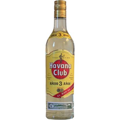 Picture of RON HAVANA CLUB 3 ANOSCL. 70  40`