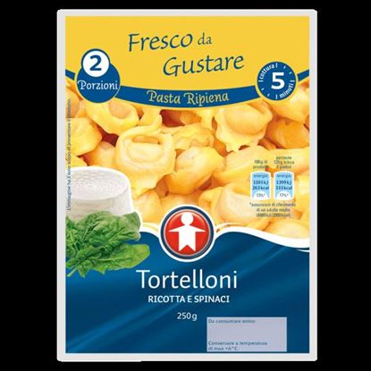 Picture of TORTELLONI RIC/SPINACI SIGMA GR 250