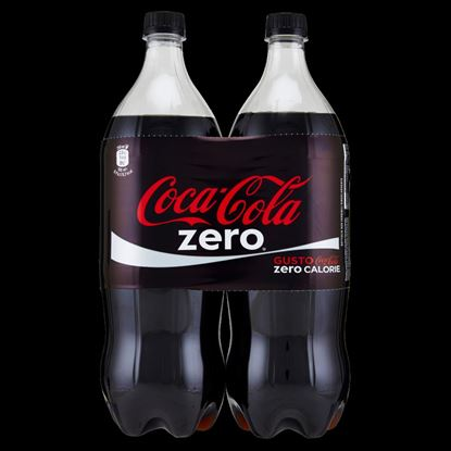 Picture of COCA COLA ZERO LT.1,35  X2 PET
