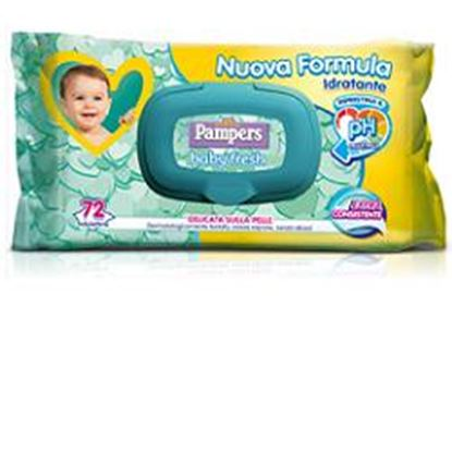 Picture of SALVIETTE PAMPERS BABY FRESH ALOE X 72