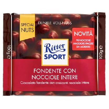 Picture of RITTER SPORT FONDENTE CONNOCCIOLE INTERE GR.100