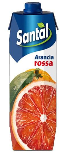 Immagine di SANTAL SUCCO ARANCIA ROSSA PRISMA LT 1