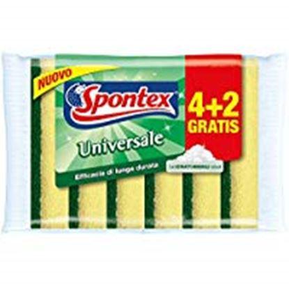 Picture of SPUGNA ABRASIVA UNIVERSALE SPONTEX 4+2