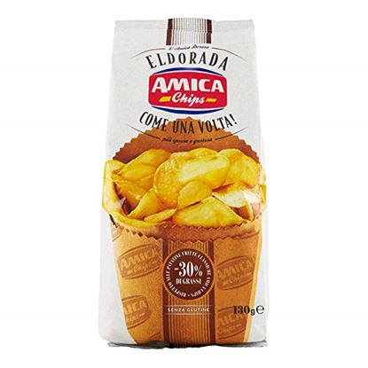 Picture of PATATINA AMICA CHIPS ELDORADA COTTA A MANO GR.130